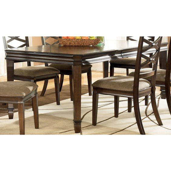Hayley Dining Room Table Bernie And Phyls Diningroom Sets Pinterest Dining Rooms Dining