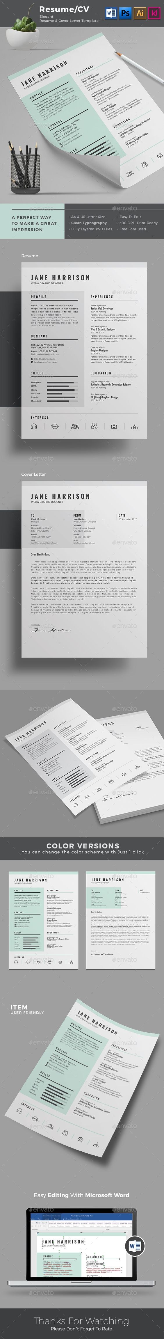 resume indesign template download indesign resume template a4