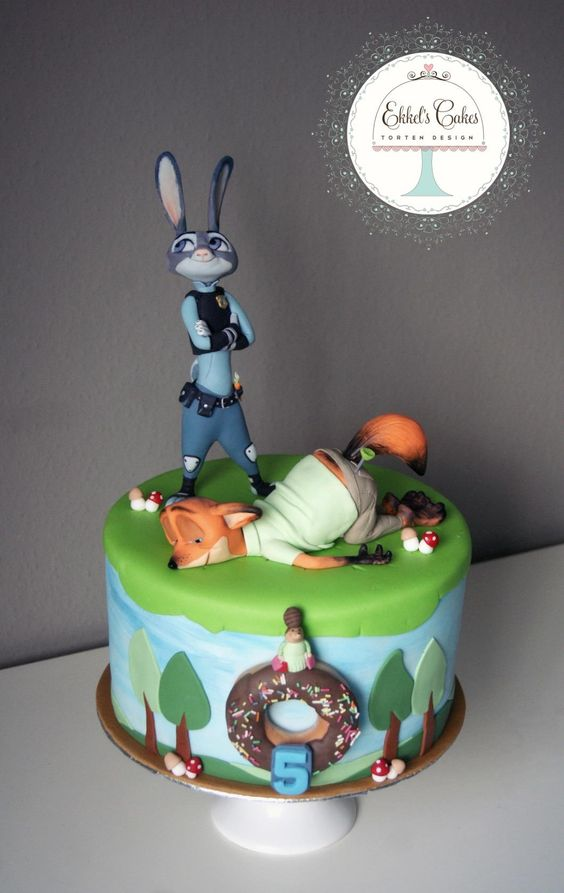 Southern Blue Celebrations Zootopia Cakes Amp Cookies