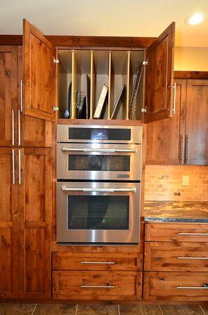 Bertch Quincy Rustic Alder Dawn Cabinet Conveniences