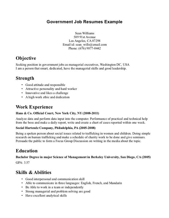 government job resumes sample 016 http topresumeinfo 2014 resume