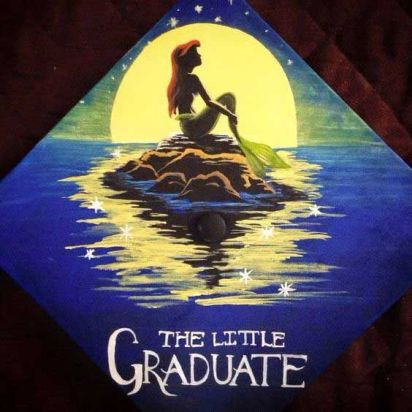 If you're gearing up to decorate your graduation cap for your ceremony (or just thinking about ideas for your future graduation), you might want to get some inspiration from the Internet. It's no surprise that many people turn to Disney movies for decoration ideas. Disney movies, whether it's the classic princess films or newer Pixar movies, are full of inspiration, promise, and excitement.: