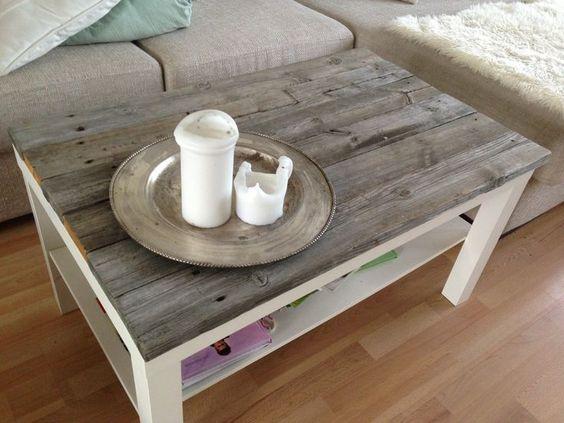 Retapez une table basse basique: