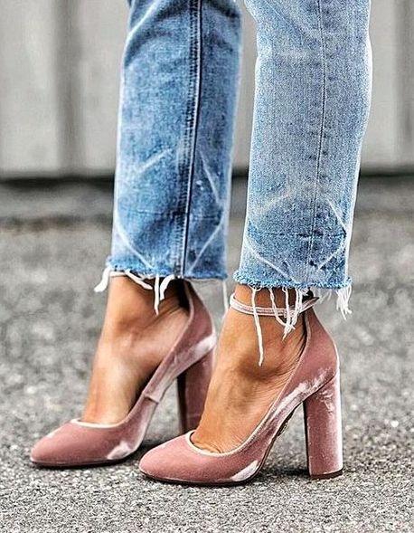 pink velvet || aquazzura: