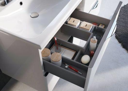 #ambio #collection #white #organizer #luxury #practicality #elita #meble #elitameble #meblełazienkowe: