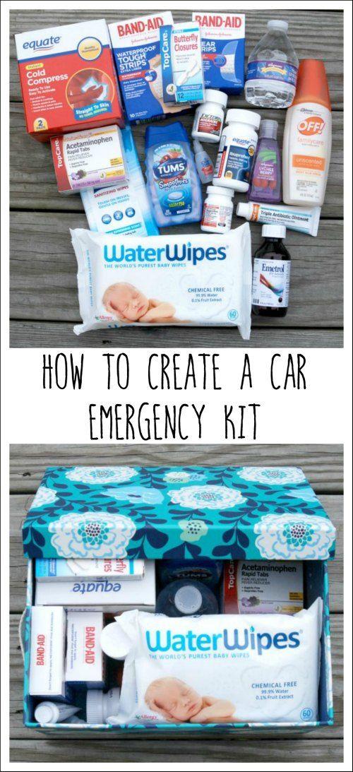 Car Emergency Kit Car safety kit, Car kits and Blankets