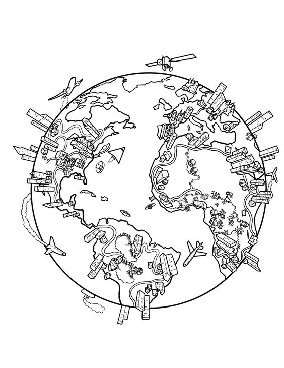 coloring pages world maps and coloring on pinterest