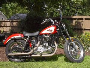 Ironhead Sportster |  1959 Harley XLCH Sportster with