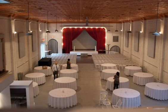 Wedding Reception And Ceremony In Same Room