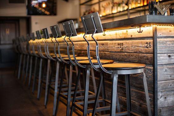 Restaurant, Coat Hooks And Bar On Pinterest