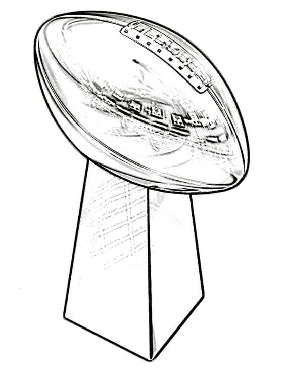 super bowl coloring pages and coloring on pinterest