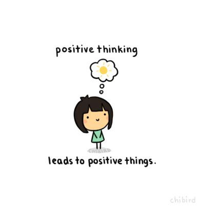 Being positive and clearing your head of negativity can help you focus on the good things in life and overcome the bad.: ):