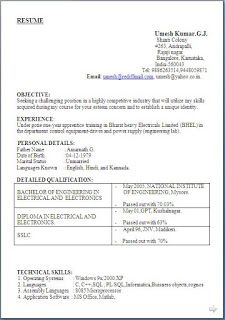 teacher resumes cv format and word doc on pinterest