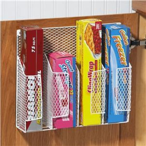 Kitchen Wrap Organizer Decor Useful