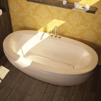 Keystone By MAAX Romance White Acrylic Freestanding Soaker Tub 105465 000 001 000 Home