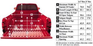2001 Dodge Ram Pickup Dimensions | Diagrams, Drawings