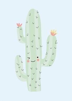 #Poster #cactus #limited geweldige cactus 50x70 #pastel from www.kidsdinge.com   http://instagram.com/kidsdinge  https://www.facebook.com/kidsdingecom-Origineel-speelgoed-hebbedingen-voor-hippe-kids-160122710686387/  #toys #Speelgoed #Kidsroom #Kidsdinge: