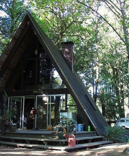 A Frame Home Decorating Ideas | Frame House | Home Exterior Design Ideas: