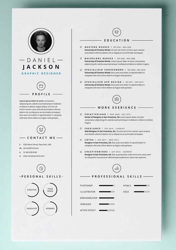 free word document resume templates and resume on pinterest