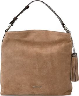 Michael large 'Elyse' hobo tote, Women's, Nude/Neutrals: