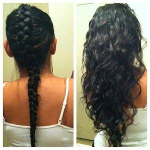 no heat curls 12 ways to heatless curls my hair no heat curl and dutch braids