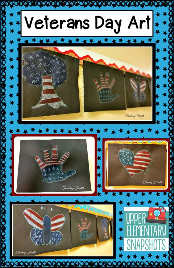Veterans Day Art American flag, Patterns and The canadian