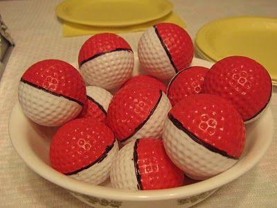 real pokeballs