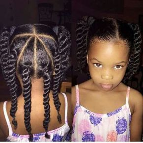 Little girl hairstyle More