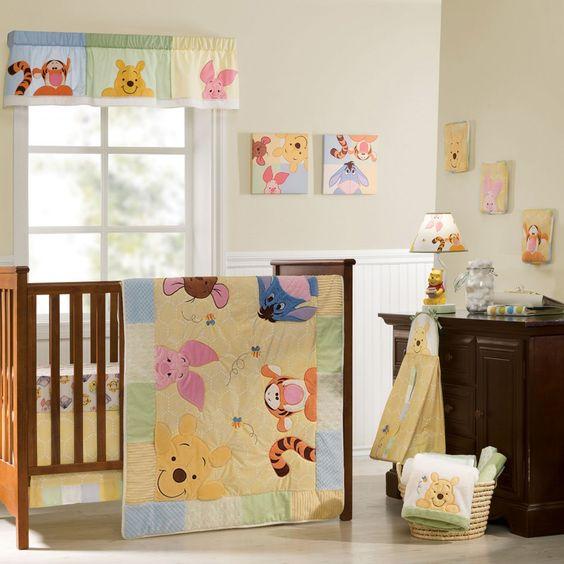 Disney Inspired Rooms Interiors Winnie the Pooh Nursery Wall Art