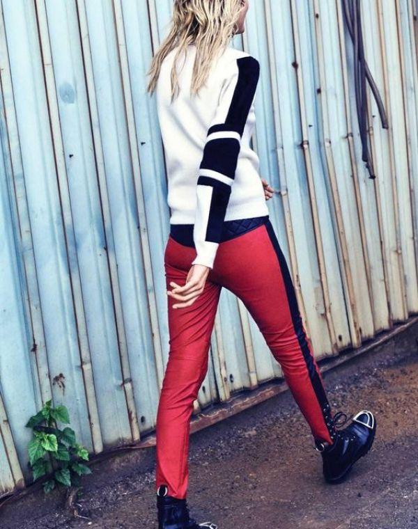 knitGrandeur: Athleisure Stripes