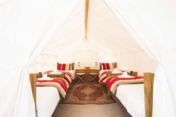 Glamping at Yellowstone Under Canvas – West Yellowstone, Montana