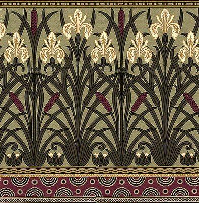 Art Nouveau wallpaper: