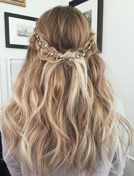 Beautiful One Of The Most Gorgeous Prom Hairstyles!