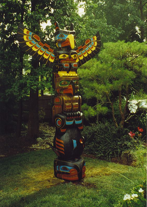 Totem poles and Totems on Pinterest