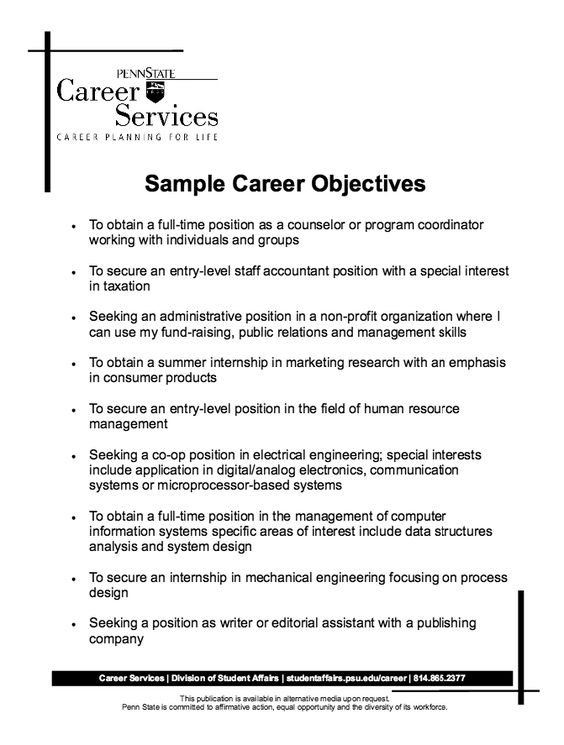 resume and career on pinterest