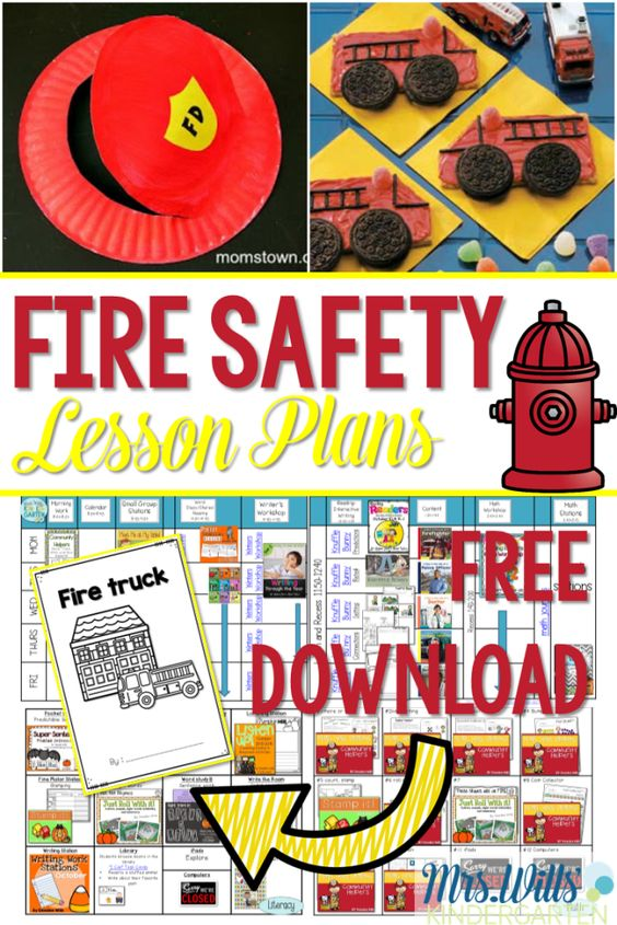 Fire Safety Week Fun with a FREE Emergent Reader! Come and