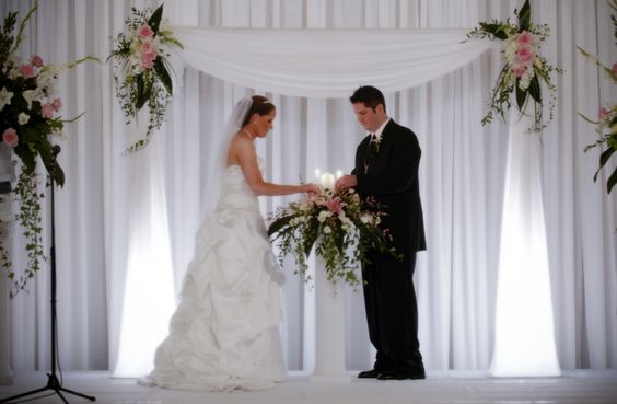 Altar Decorations, Indoor Wedding Ceremonies And Wedding