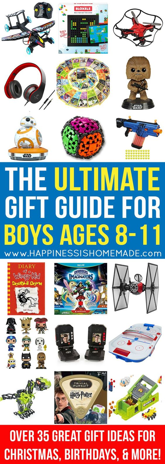 The Best Gift Ideas for Boys Ages 811 Birthdays, Gift