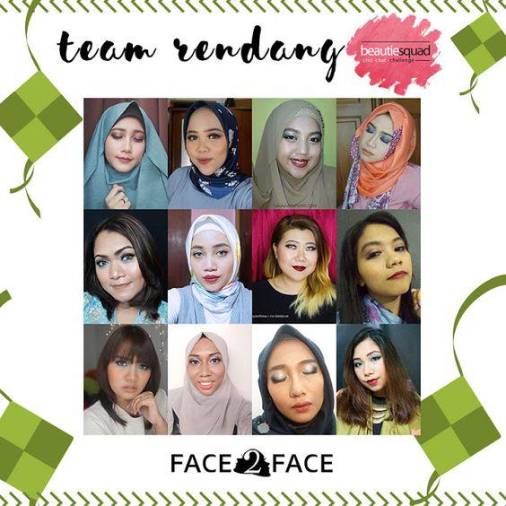 Team Rendang - Bold Makeup Lebaran