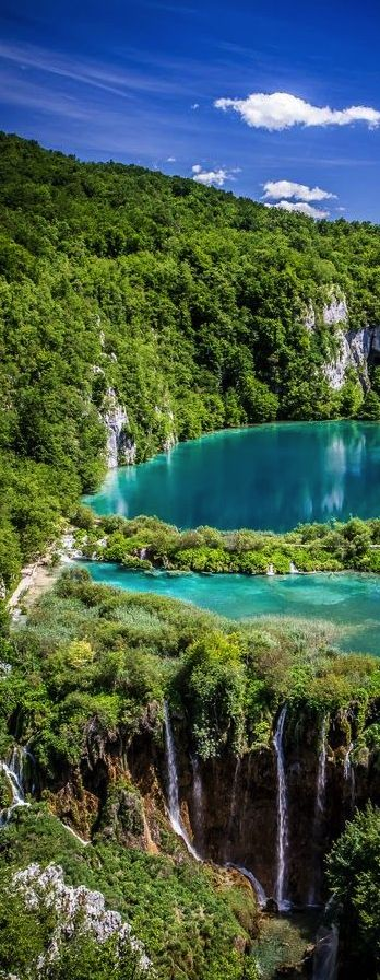 Plitvice lakes National Park, Croatia: