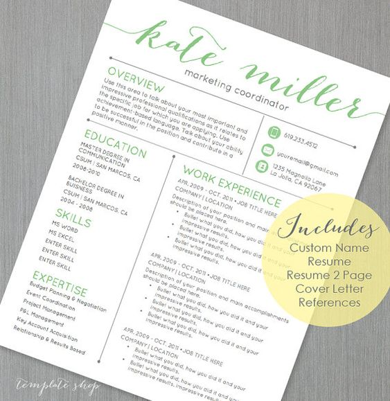 this resume includes a custom name header i create for you the