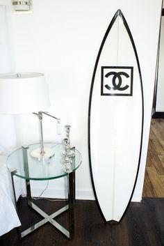 Chanel surf board!