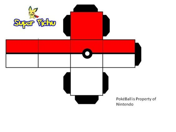 explore pokeball paper craft pokeball and more