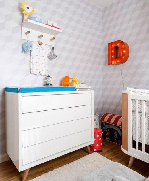 quarto-de-crianca-menino-circo-decoracao-trocador (Foto: Mariana Lima/Divulgação):