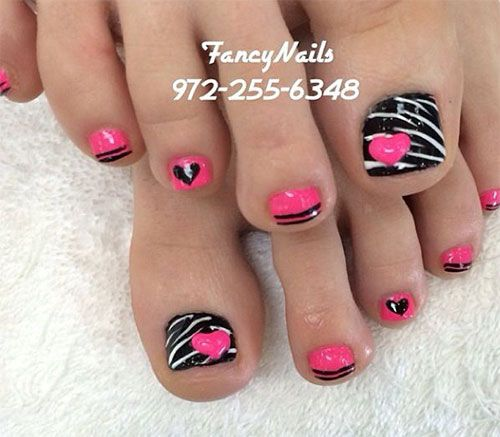 18+ Summer Toe Nail Artwork Designs, Concepts, Trends & Stickers 2015 | Nail Design: