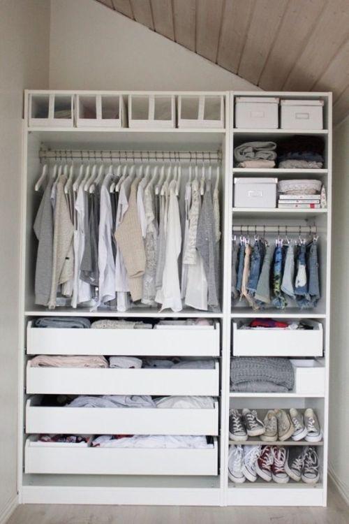 Idée d'aménagement de dressing:
