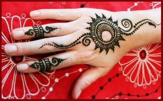 moroccan henna designs | Floral Eid Mehndi Designs Stylish And Simple: