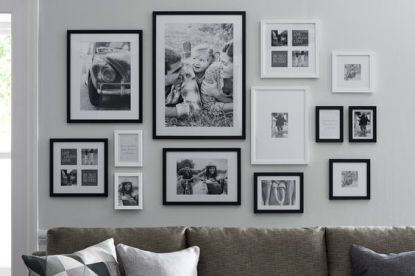 Decorate your walls with moments and people you never want to forget! Tap the image to shop our new gallery wall frames.: