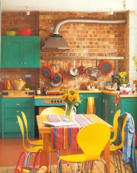 Retro Kitchen Color Ideas