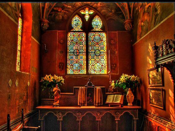 Le Clos Lucé - Amboise (Indre & Loire) - la Chapelle: